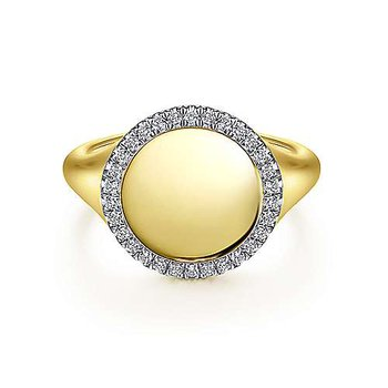 Gabriel Signet Ring