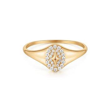 Galactica Diamond Polaris Ring