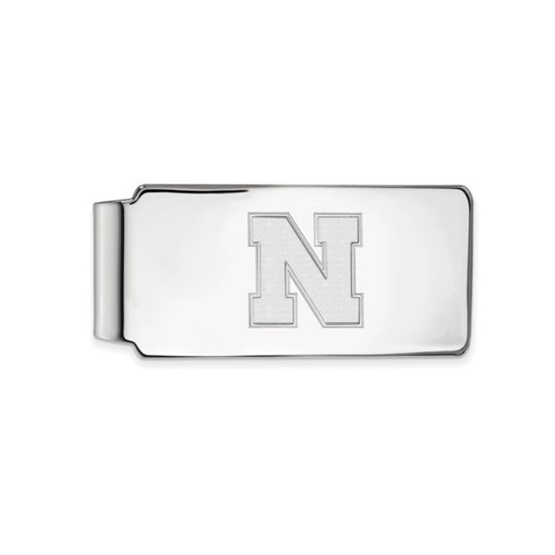 """Husker Jewelry Collection Husker """"N"""" Money Clip"""