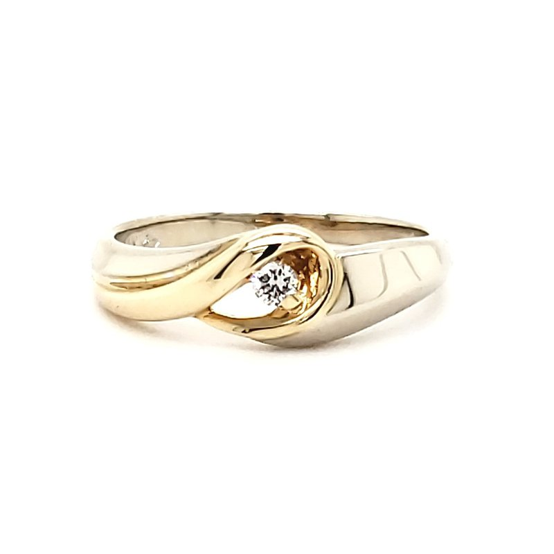 Estate Collection Diamond Promise Ring