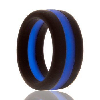 Police Silicone Wedding Band