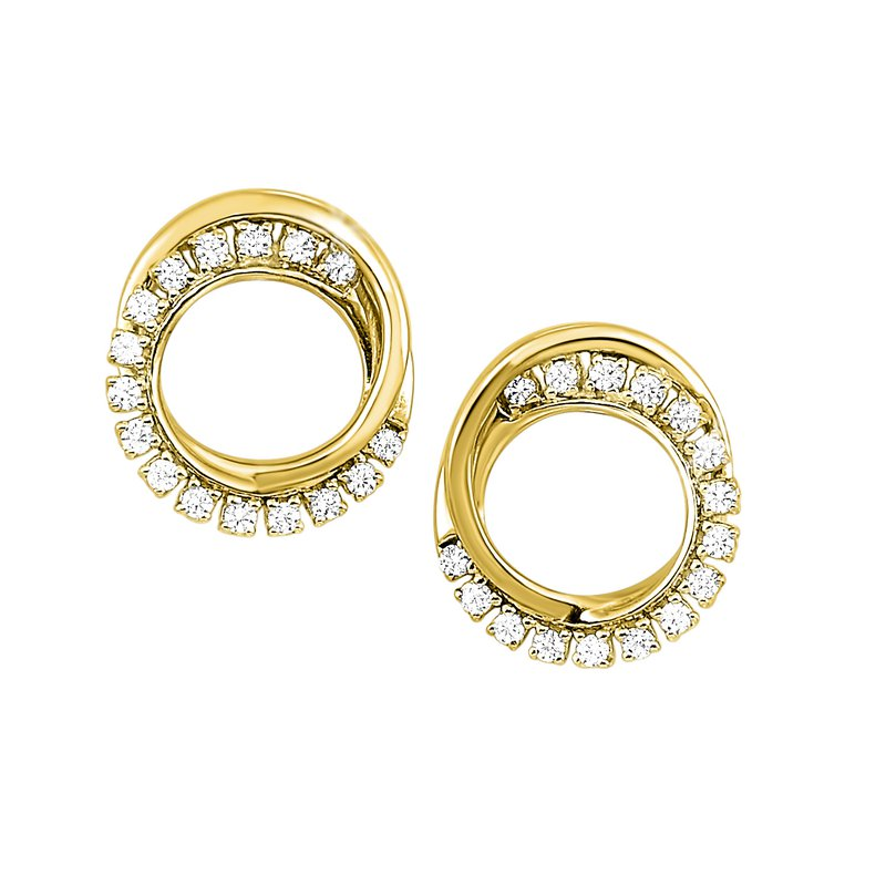 Sartor Hamann Signature Diamond Circle Earrings