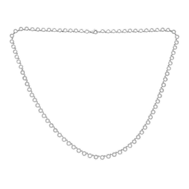 Sartor Hamann Signature Diamond Circle Necklace
