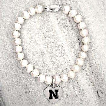 Husker Pearl Bracelet