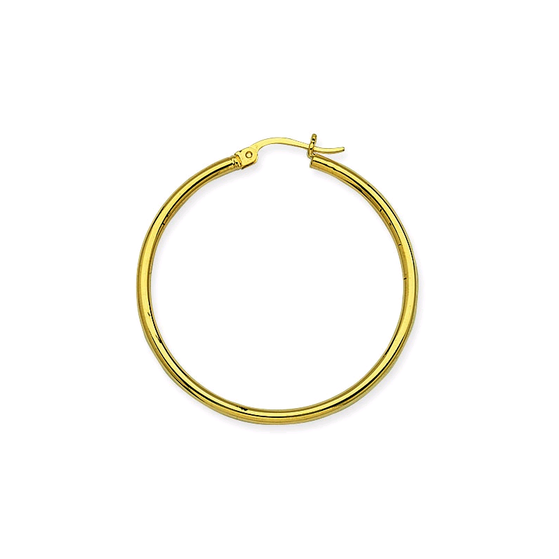 Sartor Hamann Signature 14KT Yellow Gold Hoop Earrings in 6 Sizes