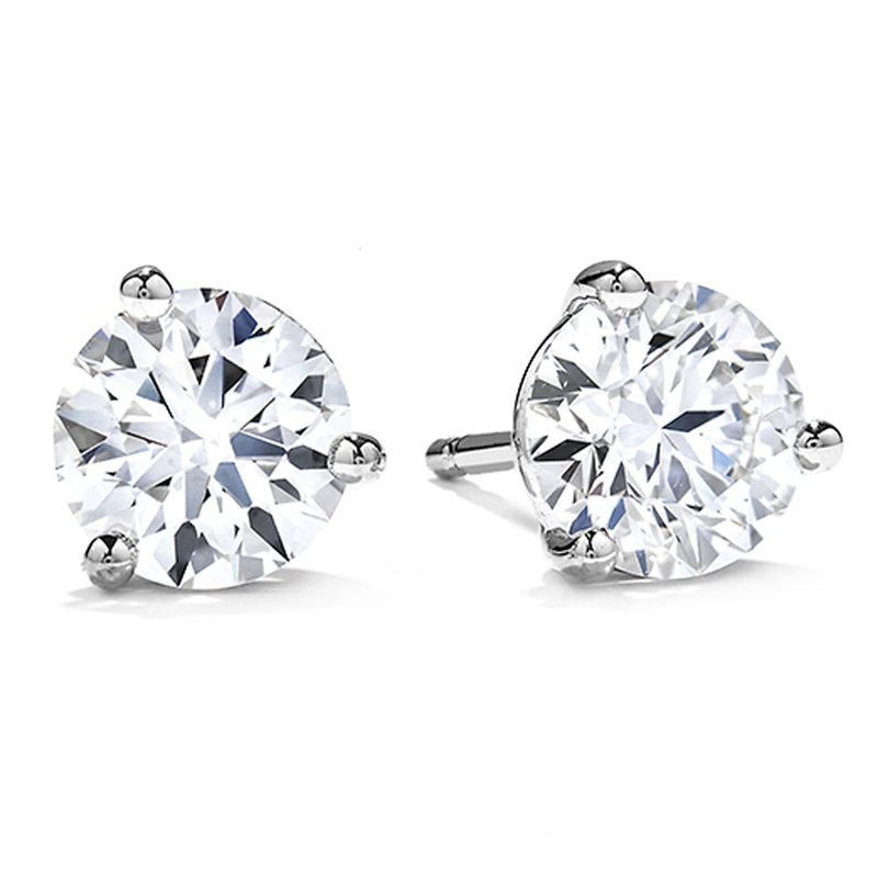 Sartor Hamann Signature Diamond Stud Earrings - Classic Quality 1/10 CT to 2 CT T.W.