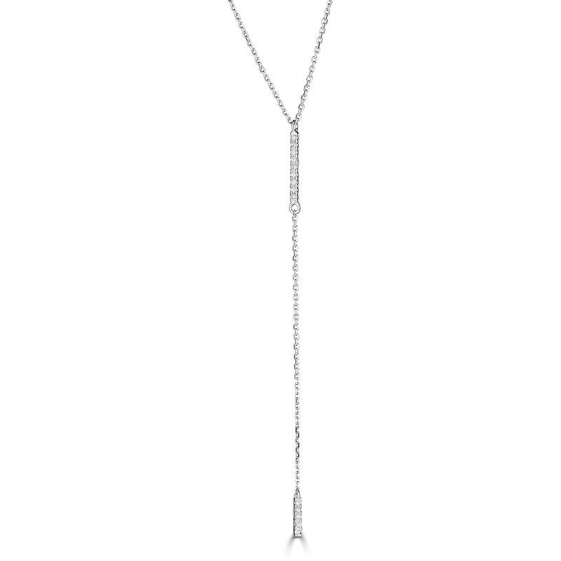 Sartor Hamann Signature Diamond Dangle Bar Pendant