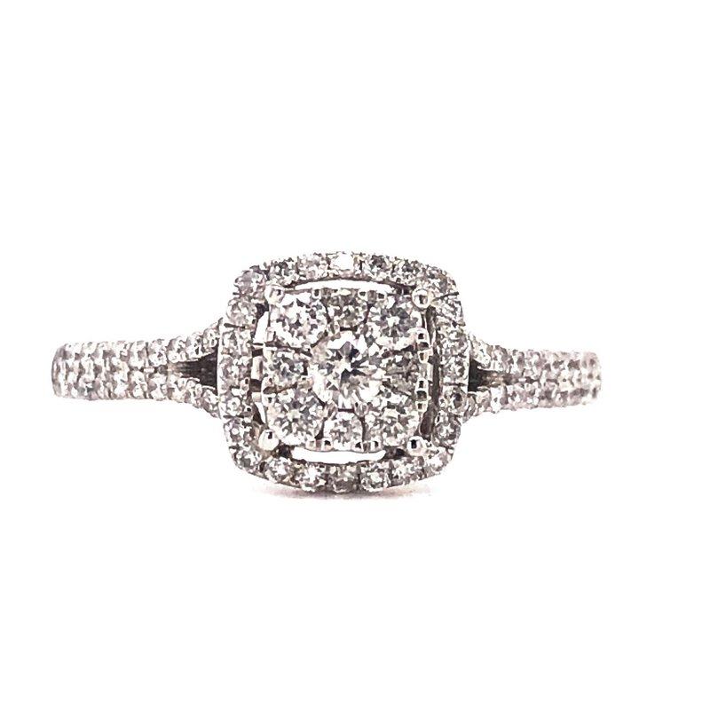 Estate Collection Halo Diamond Ring