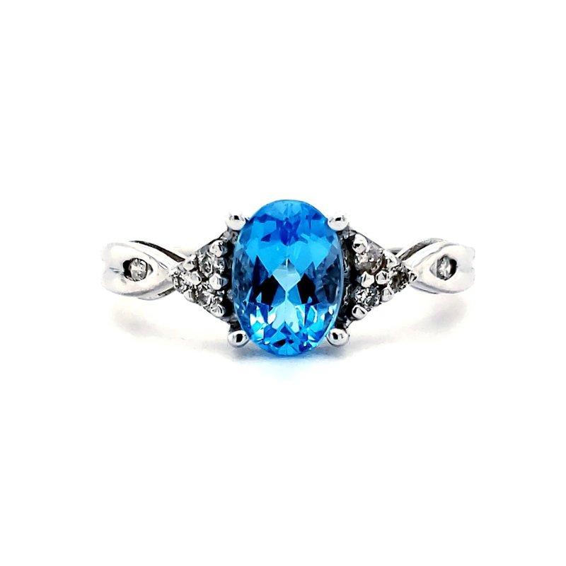Estate Collection Topaz Birthstone Ring