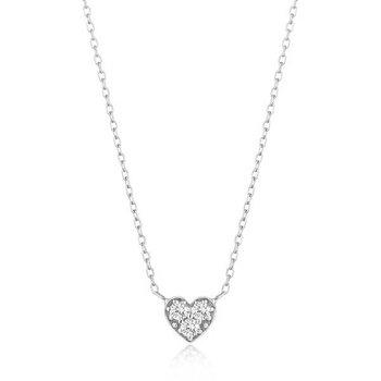 Sophie Diamond Heart Necklace