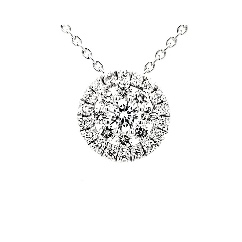 Sartor Hamann Closeouts Diamond Cluster Pendant