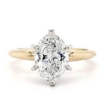 2.00 CT Oval Solitaire