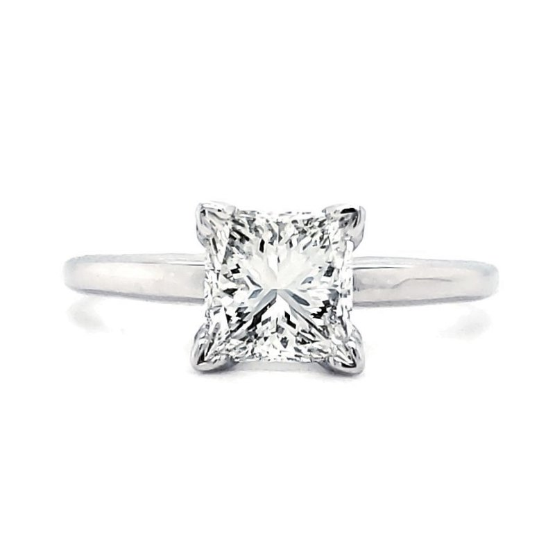 Sartor Hamann Bridal 1.50 CT Princess Solitaire