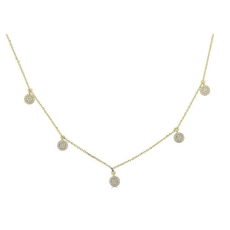 Sartor Hamann Signature Diamond Stations Necklace