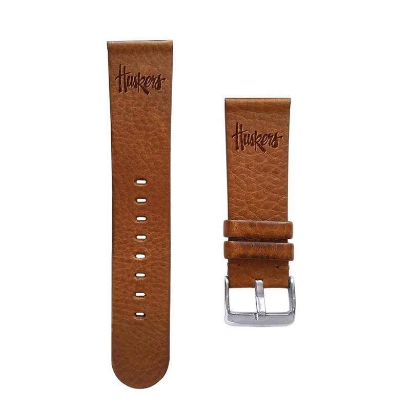 Husker Jewelry Collection Husker Leather Watch Strap