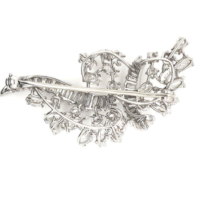 Estate Collection Diamond Brooch