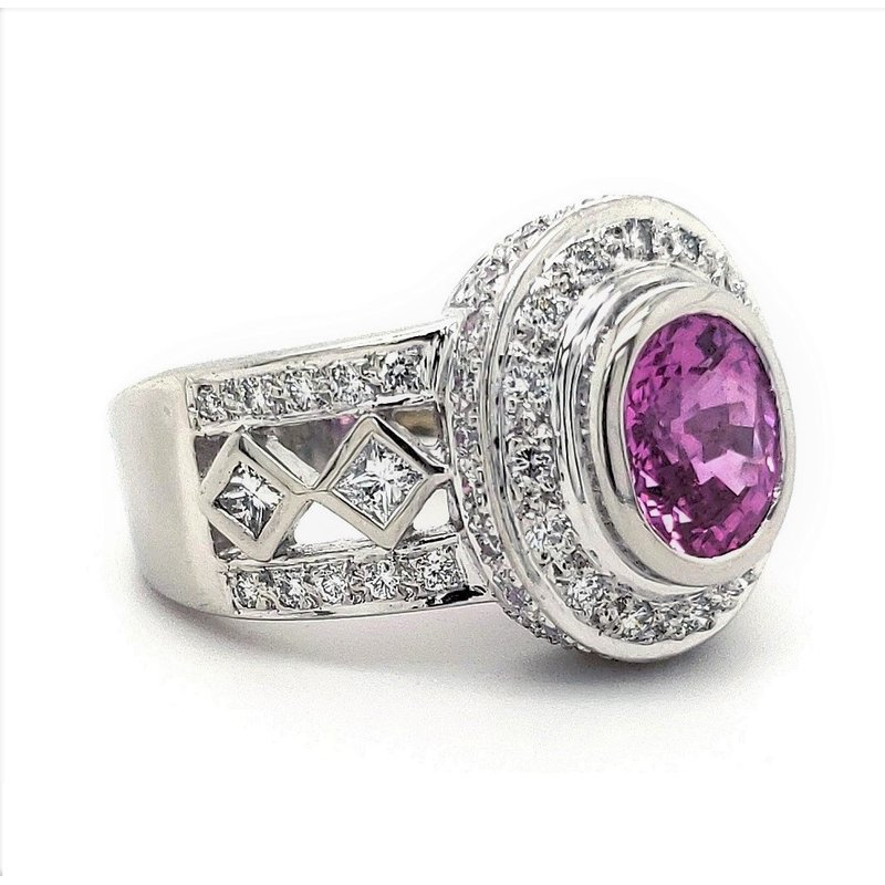 Estate Collection Pink Sapphire Ring