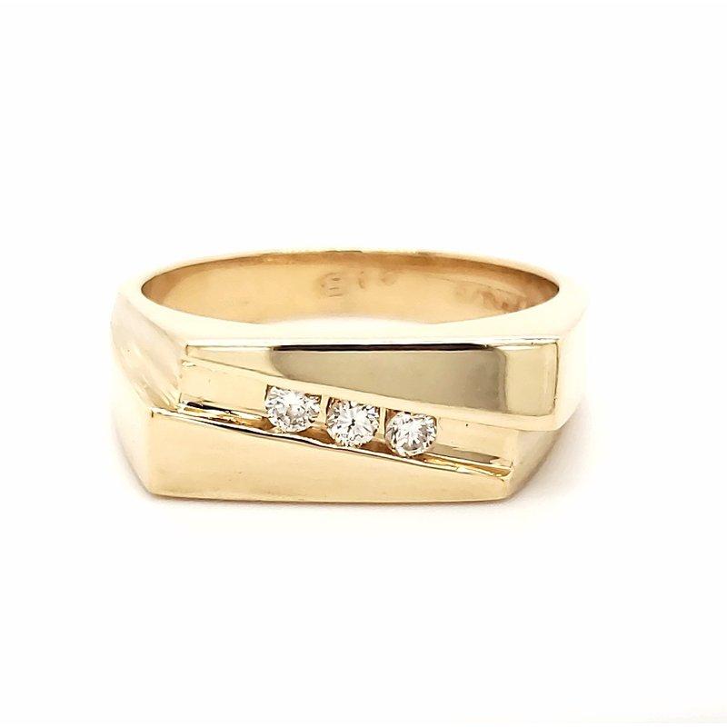 Estate Collection Mens Diamond Ring