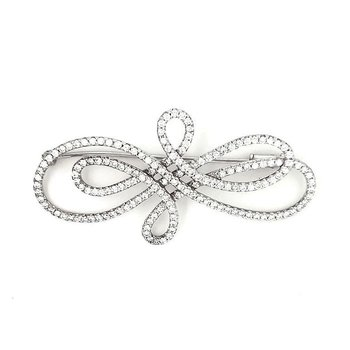 Eternity Diamond Brooch