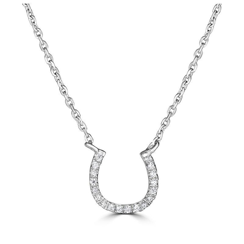 Sartor Hamann Signature Diamond Horseshoe Pendant