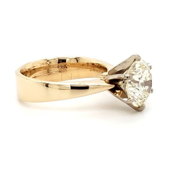 3.00 CT Round Solitaire