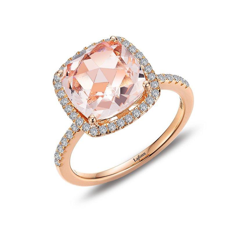 Sartor Hamann Signature Lafonn Sterling Silver Rose Gold Plated Ring