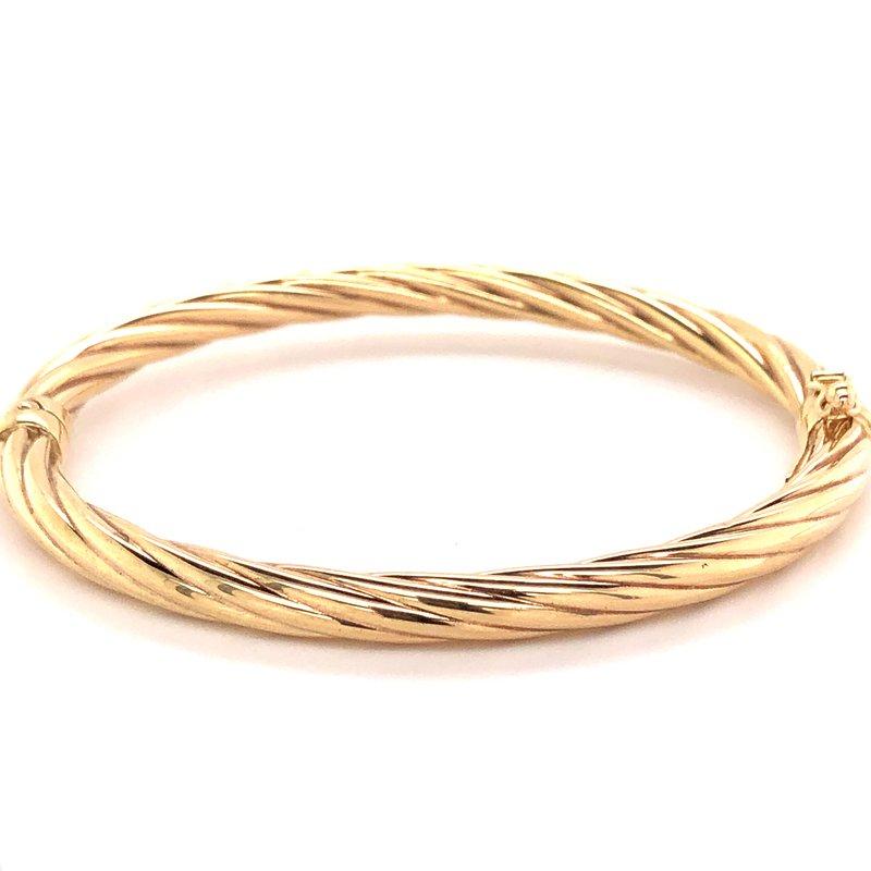 Estate Collection Gold Bangle Bracelet