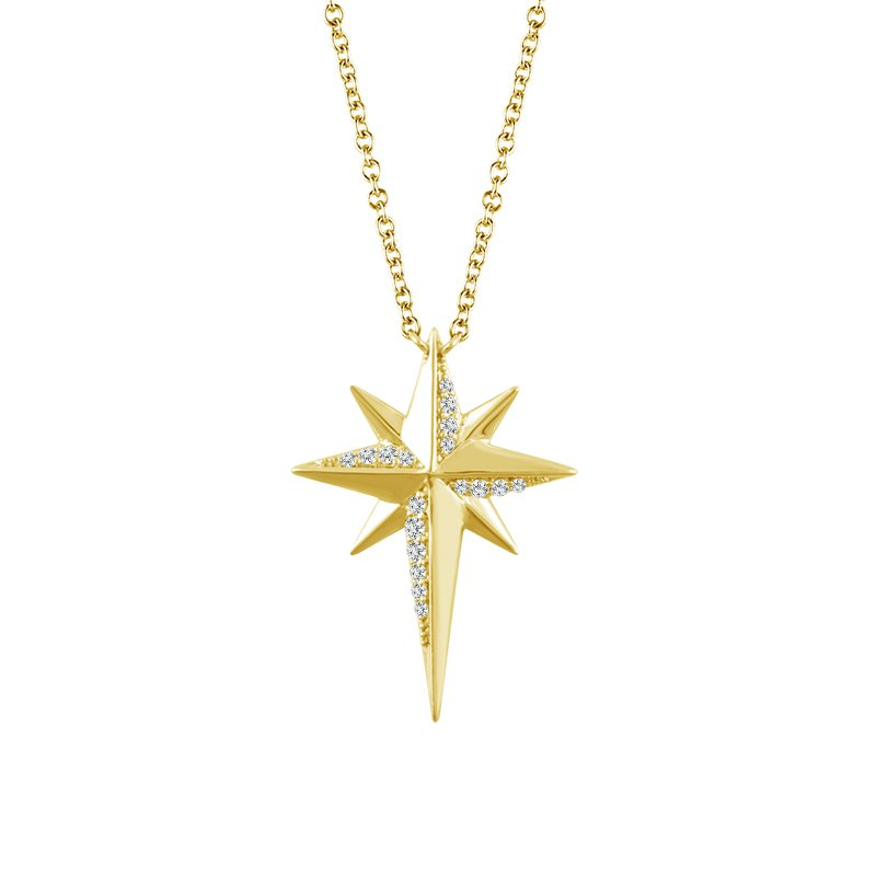 Sartor Hamann Signature Diamond Starburst Pendant