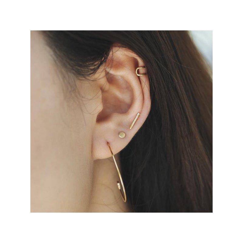 Aurelie Gi Dot Disc Stud Earrings