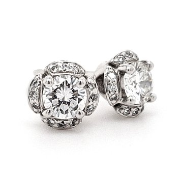Ritani Stud Earrings