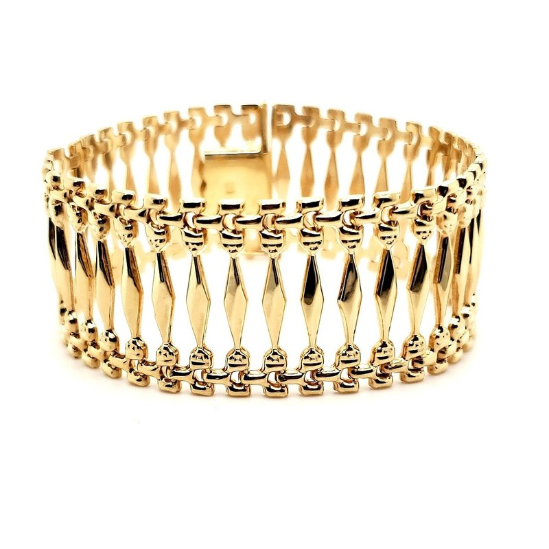 Estate Collection Gold Fashion Bracelet