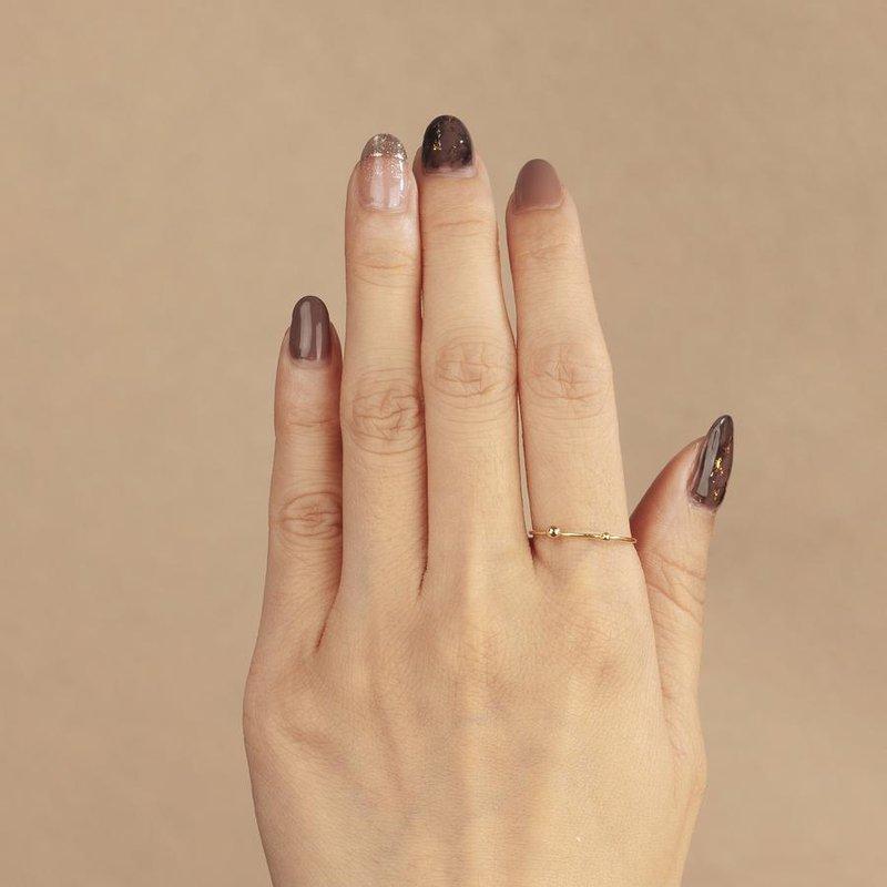 Aurelie Gi Ani Double Dot Ring