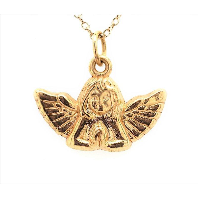 Estate Collection Angel Pendant