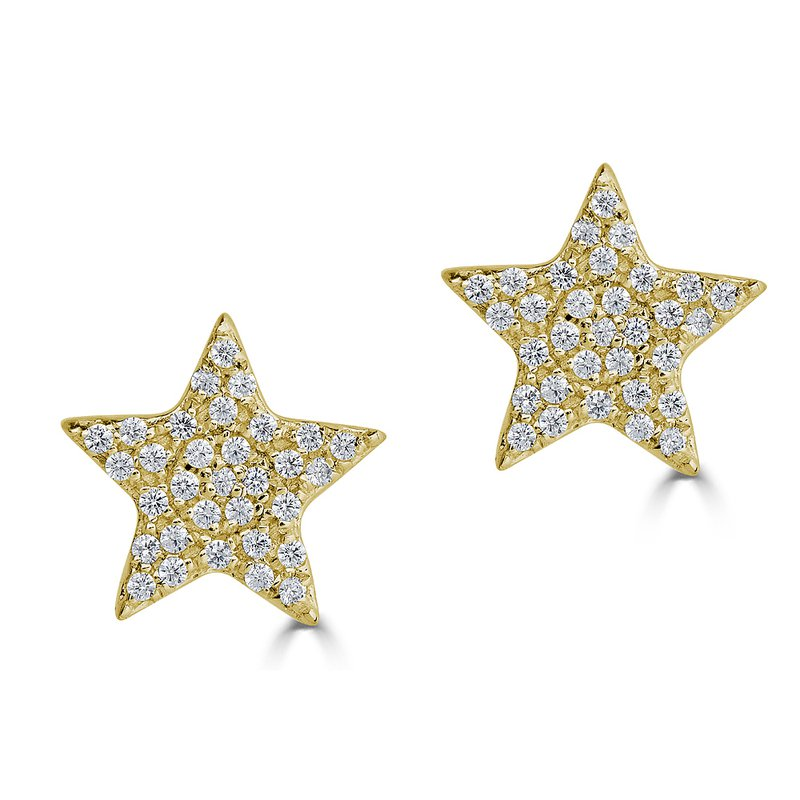 Sartor Hamann Signature Diamond Star Earrings