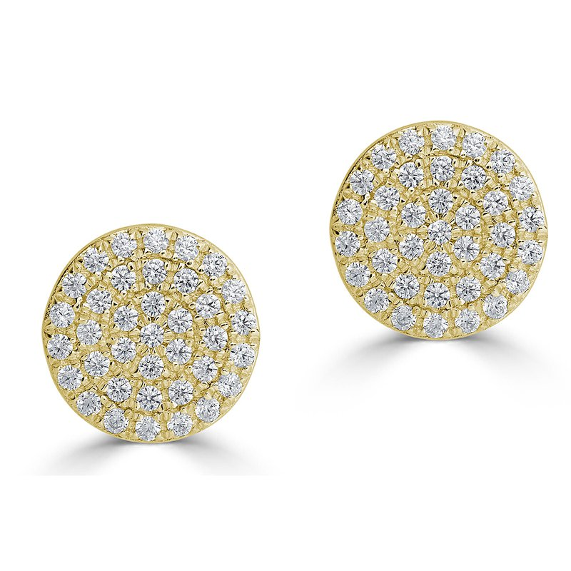 Sartor Hamann Signature Diamond Disc Earrings