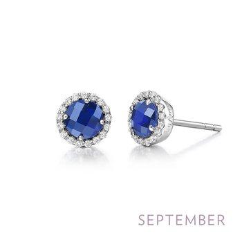 Lafonn Sterling Silver Birthstone Earrings