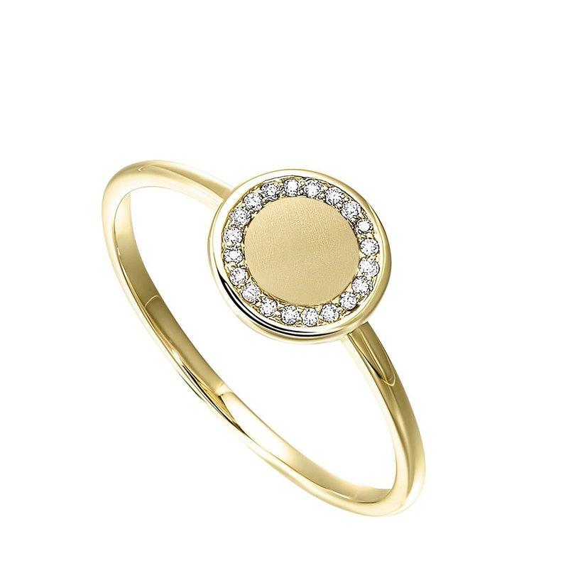 Sartor Hamann Signature Disk Fashion Ring
