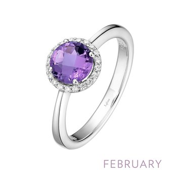 Lafonn Sterling Silver Birthstone Ring