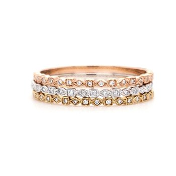 Beverley K Petite Stackable Band Group A
