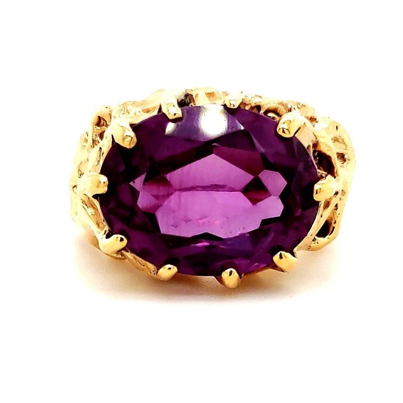 Estate Collection Purple Sapphire Ring