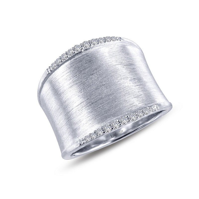 Sartor Hamann Signature Lafonn Sterling Silver Fashion Ring