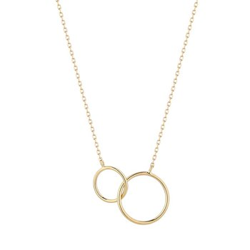 Helen Interlinked Circles Necklace
