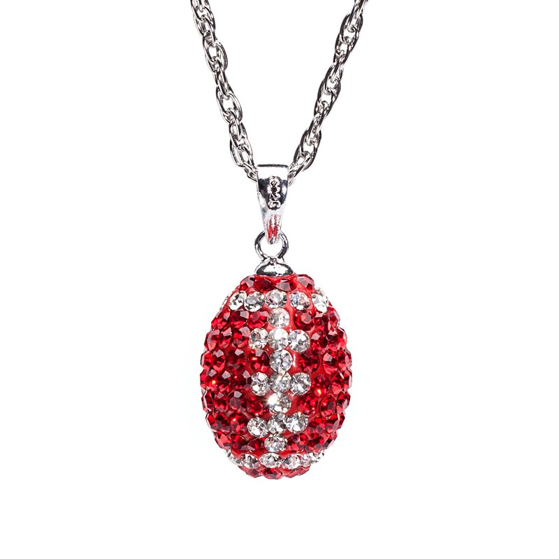 Husker Jewelry Collection Husker Football Pendant