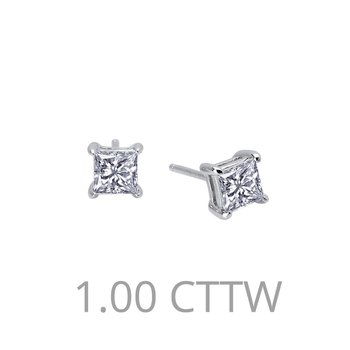 Lafonn Sterling Silver Princess Studs in 2 sizes