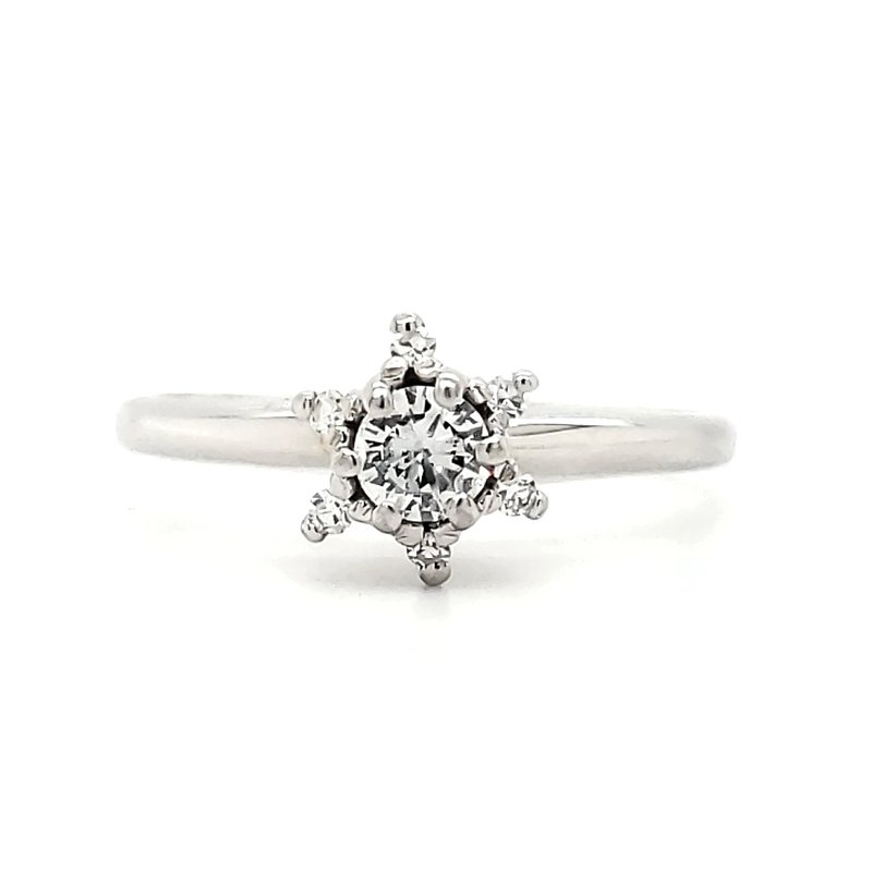 Estate Collection Diamond Star Ring