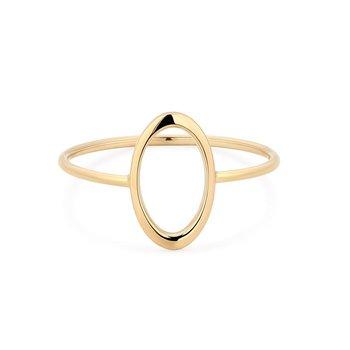 Irene Open Oval Ring