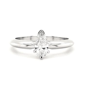 .43 CT Pear Shape Solitaire