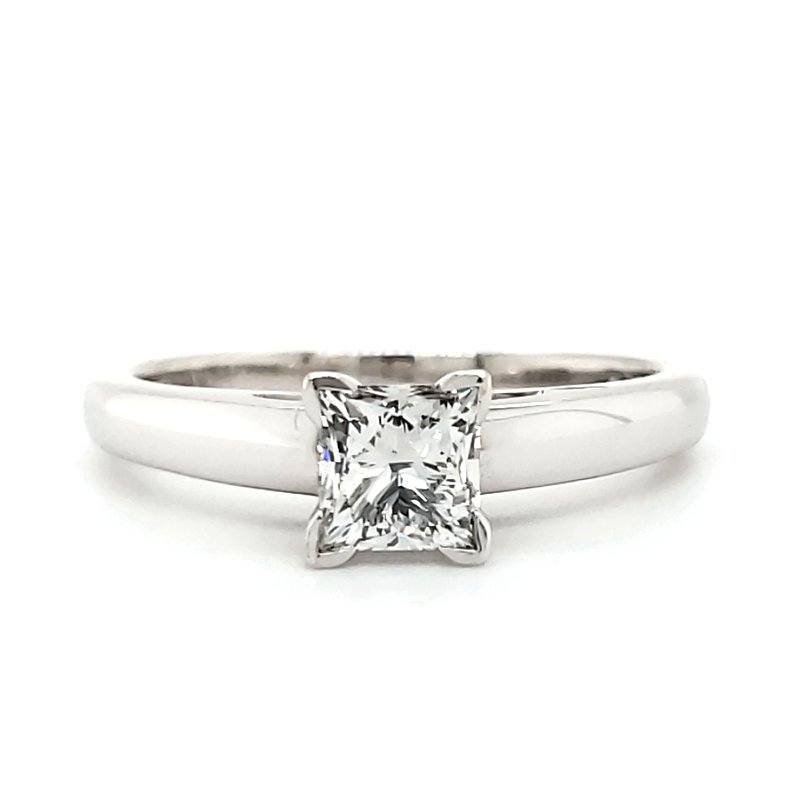 Estate Collection Princess Engagement Ring