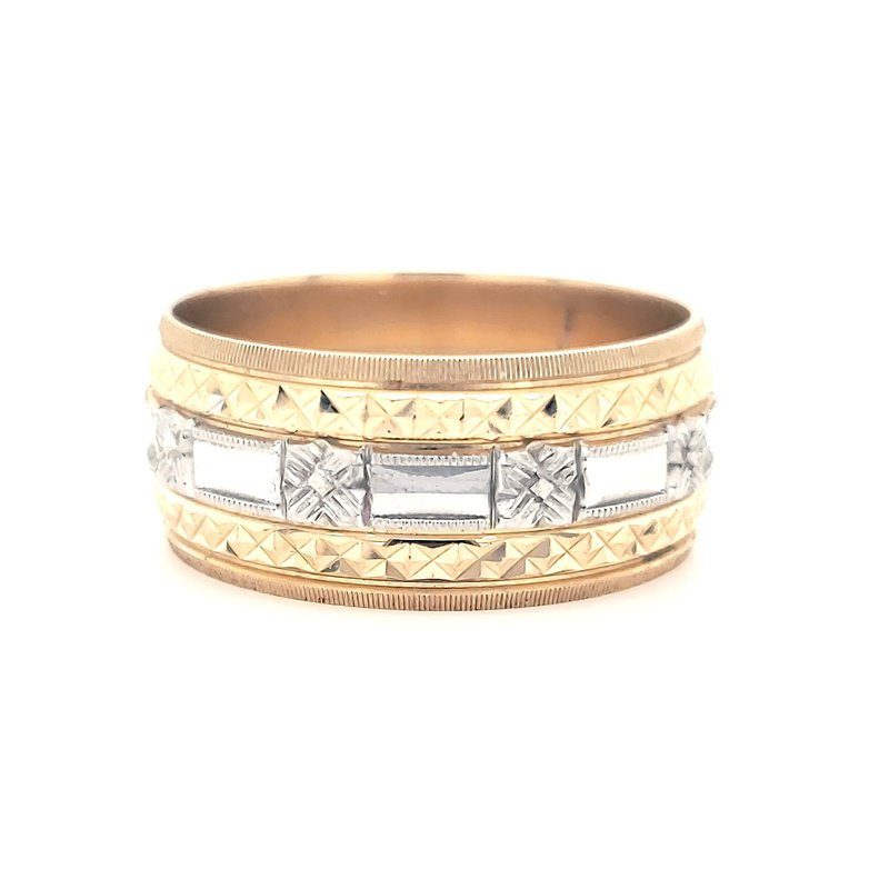 Estate Collection Two Tone Fashion Band