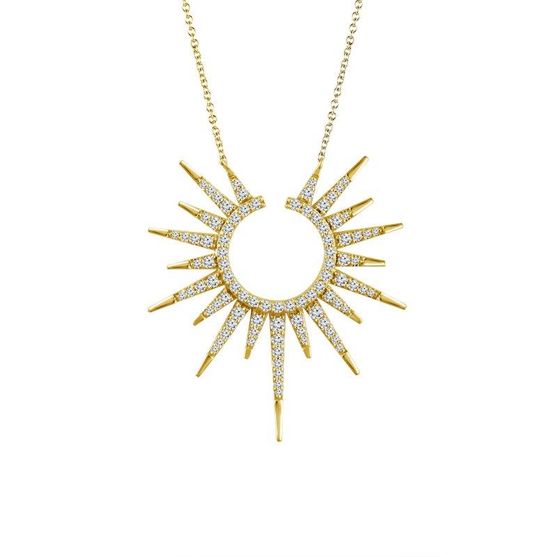 Sartor Hamann Signature Diamond Sunburst Pendant